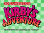 3D Classics Kirby's Adventure cover