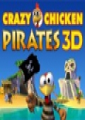 Crazy Chicken Pirates 3D cover