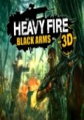 Heavy Fire: Black Arms 3D box