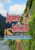 Japanese Rail Sim 3D Journey in Suburbs #1 Vol.4 cover