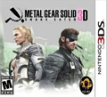 Metal Gear Solid: Snake Eater 3D cover
