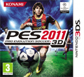 Pro Evolution Soccer 2011 3D cover
