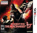 Resident Evil: The Mercenaries 3D cover