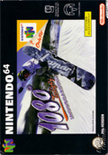 1080 Snowboarding N64 cover
