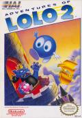 Adventures of Lolo 2 NES cover