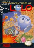 Adventures of Lolo NES cover