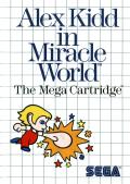 Alex Kidd in Miracle World Master System cover