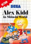 Alex Kidd in Shinobi World  cover