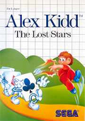 Alex Kidd: The Lost Stars Master System cover