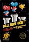 Balloon Fight NES cover
