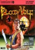 Bloody Wolf TurboGrafx-16 cover