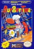 BurgerTime NES cover