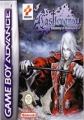 Castlevania: Harmony of Dissonance Game Boy Advance cover