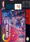 Contra III: The Alien Wars  cover