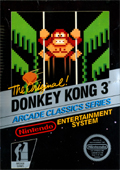 Donkey Kong 3 NES cover