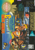 Donkey Kong Country 3: Dixie Kong's Double Trouble SNES cover
