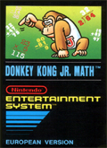 Donkey Kong Jr Math  cover