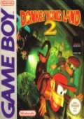 Donkey Kong Land 2 Game Boy cover