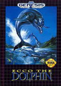 Ecco the Dolphin Genesis cover