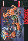 Final Fight 2 SNES cover