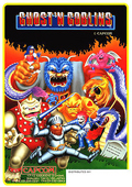 Ghosts 'n Goblins (Arcade)  cover