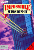 Impossible Mission 2 Commodore 64 cover
