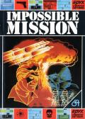 Impossible Mission Commodore 64 cover
