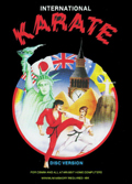 International Karate Commodore 64 cover