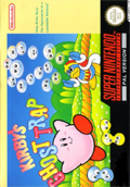 Kirby's Avalanche SNES cover