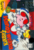 Kirby's Dream Course SNES cover