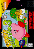 Kirby's Dream Land 3 SNES cover