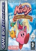 Kirby & The Amazing Mirror Game Boy Advance cover