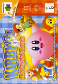 Kirby 64: The Crystal Shards N64 cover