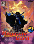 Magician Lord Neo-Geo cover