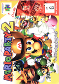 Mario Party 2 N64 cover