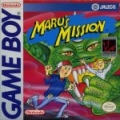 Maru's Mission Game Boy cover