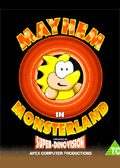 Mayhem in Monsterland Commodore 64 cover