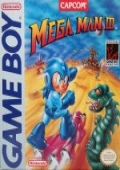 Mega Man 3 (Game Boy)  cover