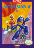 Mega Man 4  cover