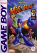 Mega Man 5 (Game Boy)  cover