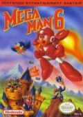 Mega Man 6  cover