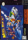 Mega Man X2  cover
