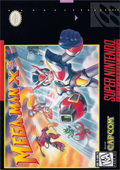 Mega Man X3  cover