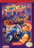 Mighty Final Fight NES cover