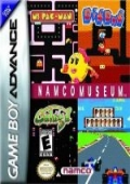Namco Museum Game Boy Advance cover