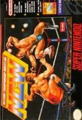 Natsume Championship Wrestling SNES cover
