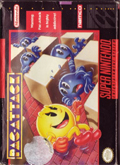 Pac-Attack SNES cover