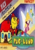 Pac-Land NES cover