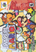Paper Mario N64 cover