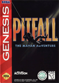 Pitfall: The Mayan Adventure Genesis cover